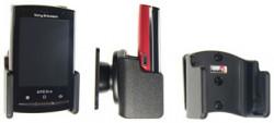 Support voiture  Brodit Sony Ericsson Xperia X10 Mini Pro  passif avec rotule - Pour un montant position fermée. Réf 511171