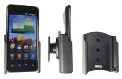 Support voiture  Brodit LG Optimus 2X  passif avec rotule - Réf 511236
