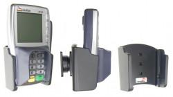 Support voiture  Brodit VeriFone VX 810  passif avec rotule - Pour appareil avec et sans code PIN bouclier. Réf 511310