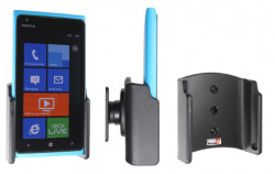 Support voiture  Brodit Nokia Lumia 900  passif avec rotule - Réf 511380
