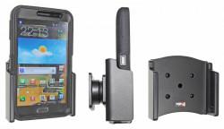 Support voiture  Brodit Samsung Galaxy Note GT-N7000  passif avec rotule - Pour  étui Otterbox Defender (non livré). Réf 511457