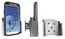 Support voiture  Brodit Samsung Galaxy Note II GT-N7100  passif avec rotule - Pour  étui Otterbox Defender (non livré). Réf 511467