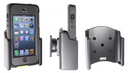 Support voiture Brodit Apple iPhone 5 passif avec rotule - UNIQUEMENT pour Otterbox Armure série. Réf 511510