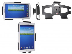 Support voiture  Brodit Samsung Galaxy Tab 3 7.0 SM-T2100  passif avec rotule - Réf 511543