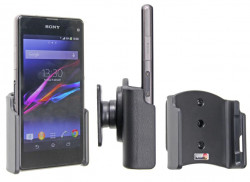 Support voiture  Brodit Sony Xperia Z1 Compact  passif avec rotule - Réf 511597