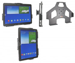 Support voiture  Brodit Samsung Galaxy Note 10.1 (2014 Edition) SM-P6000  passif avec rotule - Réf 511598