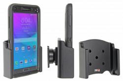Support voiture Brodit Samsung Galaxy Note 4 passif avec rotule - UNIQUEMENT pour étui Otterbox Defender (non livré). Réf 511694