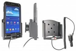 Support voiture  Brodit Samsung Galaxy Note 3 SM-N9005  avec chargeur allume cigare - Avec rotule. Pour  étui Otterbox Defender (non livré). Réf 512583