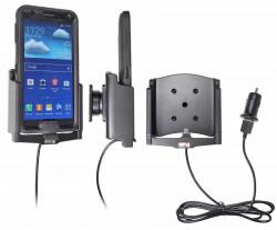 Support voiture  Brodit Samsung Galaxy Note 3 SM-N9005  avec chargeur allume cigare - Avec rotule et le câble USB. Pour  étui Otterbox Defender (non livré). Réf 521583