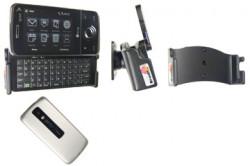 Support voiture  Brodit HTC Touch Pro  passif avec rotule - Pour une position ouverte horizontale. Réf 848882