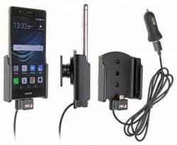 Support voiture Brodit Huawei P9 / Honor 8 avec chargeur allume cigare - Avec rotule. Avec câble USB. Réf 521884