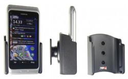 Support voiture  Brodit Nokia E7-00  passif avec rotule - Pour un montant position fermée. Réf 511239