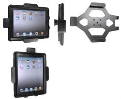Support voiture  Brodit Apple iPad 2  sécurisé - Support passif avec rotule. Avec verrouillage renforcé Pour  étui Otterbox Defender (non livré). Réf 541366
