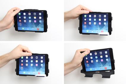 support voiture apple ipad mini passif avec rotule t l phones tablettes gps. Black Bedroom Furniture Sets. Home Design Ideas