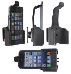 Support voiture  Brodit Apple iPhone 5  passif avec rotule - Pour une position verticale et horizontale plus sûr. Surface &quot