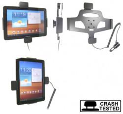 Support voiture  Brodit Samsung Galaxy Tab 10.1 GT-P7500  sécurisé - Support actif avec cig-plug et pivotant. Avec verrouillage renforcé Réf 546287