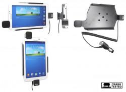 Support voiture  Brodit Samsung Galaxy Tab 3 7.0 SM-T2100  sécurisé - Avec câble allume-cigare. Avec rotule. Avec verrouillage renforcé Réf 546543