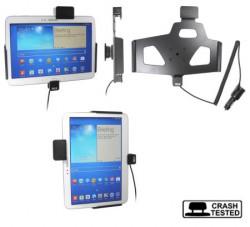 Support voiture  Brodit Samsung Galaxy Tab 3 10.1 GT-P5200  sécurisé - Support actif avec allume-cigare. Avec verrouillage renforcé Réf 546549