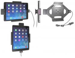 Support voiture  Brodit Apple iPad Air  sécurisé - Support actif avec cig-plug et le câble USB. Avec rotule. Avec verrouillage renforcé Réf 546577
