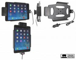 Support voiture  Brodit Apple iPad Mini 3  sécurisé - Support actif avec un câble USB. Chargeur approuvé par Apple. Avec rotule. Avec verrouillage renforcé Réf 546584