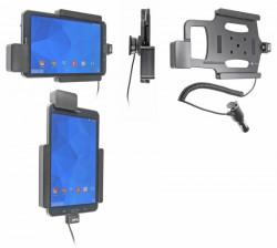 Support voiture  Brodit Samsung Galaxy Tab 4 8.0 SM-T335  sécurisé - Support actif avec allume-cigare. Avec rotule. Avec verrouillage renforcé Réf 546637