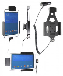 Support voiture  Brodit Samsung Galaxy Tab 4 7.0 SM-T230  sécurisé - Support actif avec allume-cigare. Avec verrouillage renforcé Réf 546682