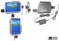Support voiture  Brodit Samsung Galaxy Tab 3 7.0 SM-T2100  sécurisé - Pour une installation fixe. Avec rotule. Avec verrouillage renforcé Réf 547543