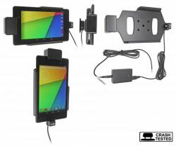 Support voiture  Brodit Asus Google Nexus 7 (2013)  sécurisé - Pour une installation fixe. Avec rotule. Avec verrouillage renforcé Réf 547560