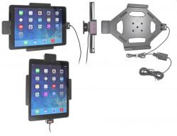 Support voiture  Brodit Apple iPad Air  sécurisé - Support actif pour une installation fixe. Avec rotule. Avec verrouillage renforcé Réf 547577