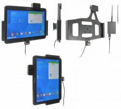 Support voiture  Brodit Samsung Galaxy Tab 4 10.1 SM-T530  sécurisé - Support actif pour une installation fixe. Avec verrouillage renforcé Réf 547632