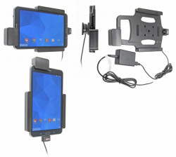 Support voiture  Brodit Samsung Galaxy Tab 4 8.0 SM-T335  sécurisé - Support actif pour une installation fixe. Avec rotule. Avec verrouillage renforcé Réf 547637