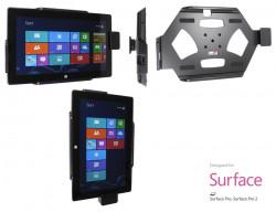 Support voiture  Brodit Microsoft Surface PRO  sécurisé - Support passif avec rotule. Avec verrouillage renforcé Réf 541491