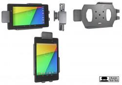 Support voiture  Brodit Asus Google Nexus 7 (2013)  sécurisé - Support passif avec rotule. Avec verrouillage renforcé Réf 541560
