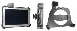 Support voiture  Brodit Panasonic Toughpad FZ-G1  sécurisé - Avec verrouillage renforcé Pour les appareils avec dragonne seulement. Convient à la fois avec la batterie standard et étendu. Réf 541651