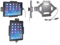Support voiture  Brodit Apple iPad Air  antivol - Support actif avec cig-plug et le câble USB. Avec rotule. 2 clefs. Réf 535577