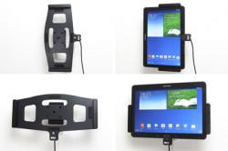 Support voiture  Brodit Samsung Galaxy Note 10.1 (2014 Edition) SM-P6000  avec chargeur allume cigare - Avec rotule. Avec câble USB. Réf 521598