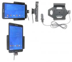 Support voiture  Brodit Samsung Galaxy Tab 4 7.0 SM-T230  avec chargeur allume cigare - Avec rotule. Avec câble USB. Réf 521636