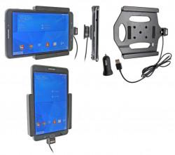 Support voiture  Brodit Samsung Galaxy Tab 4 8.0 SM-T335  avec chargeur allume cigare - Avec rotule. Avec câble USB. Réf 521637