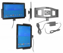 Support voiture  Brodit Samsung Galaxy Tab PRO 10.1 LTE SM-T525  installation fixe - Avec rotule, connectique Molex. Réf 513608