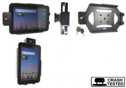 Support voiture  Brodit Samsung Galaxy Tab GT-P1000  antivol - Support passif avec rotule. 2 clefs. Réf 539209