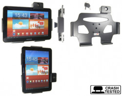 Support voiture  Brodit Samsung Galaxy Tab 8.9 GT-P7300  antivol - Support passif avec rotule. 2 clefs. Réf 539300