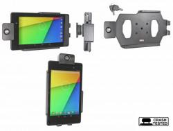 Support voiture  Brodit Asus Google Nexus 7 (2013)  antivol - Support passif avec rotule. 2 clefs. Réf 539560