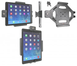 Support voiture  Brodit Apple iPad Air  antivol - Support passif avec rotule. 2 clefs. Réf 539577