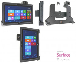 Support voiture  Brodit Microsoft Surface PRO  antivol - Support passif. 2 clefs. Pour Incipio Capture. Réf 539587