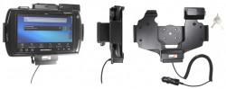 Support voiture  Brodit Motorola ET1  antivol - Support actif avec allume-cigare. Conception mince avec chargeur intégré dans le support. 2 clefs. Convient unité à la fois avec et sans dragonne. Réf 530407