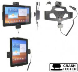 Support voiture  Brodit Samsung Galaxy Tab 10.1 GT-P7500  antivol - Support actif avec cig-plug et pivotant. 2 clefs. Réf 535287
