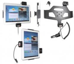 Support voiture  Brodit Samsung Galaxy Tab 2 10.1  antivol - Support actif avec cig-plug et pivotant. 2 clefs. Réf 535519