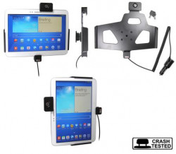 Support voiture  Brodit Samsung Galaxy Tab 3 10.1 GT-P5200  antivol - Support actif avec cig-plug et pivotant. 2 clefs. Réf 535549