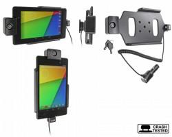 Support voiture  Brodit Asus Google Nexus 7 (2013)  antivol - Support actif avec cig-plug et pivotant. 2 clefs. Réf 535560