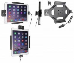 Support voiture Brodit Apple iPad Air 2 antivol - Support actif avec allume-cigare. Avec rotule. Avec serrure, 2 clés. Réf 535684